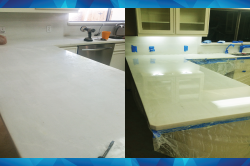 Countertop Polishing and Restoration in McAllen