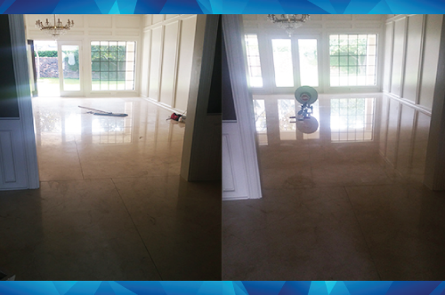 Natural Stone Restoration And Polishing Service in McAllen