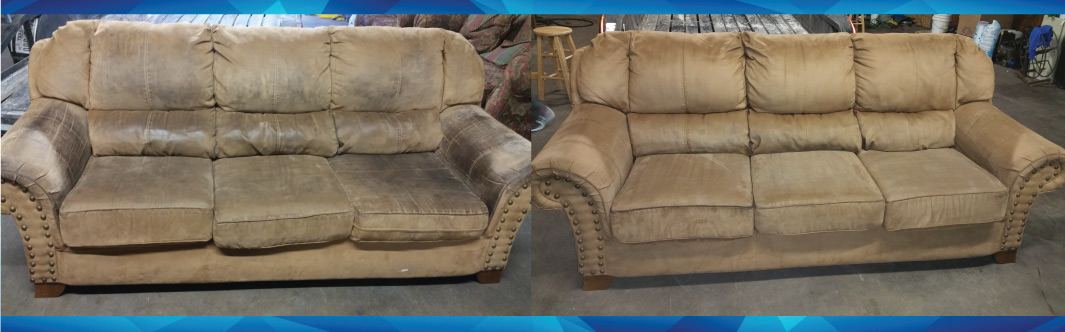 upholstered sofas before and after baci living room